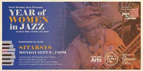 First Monday Jazz Presents Sytarsis tickets