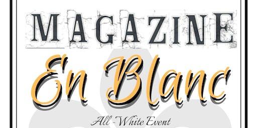 Magazine En Blanc at The Prep - A White Linen Affair