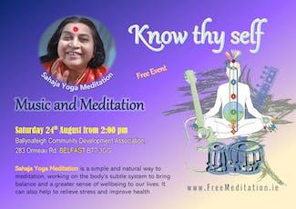 Free Meditation & Yoga Belfast - Music & Meditation tickets