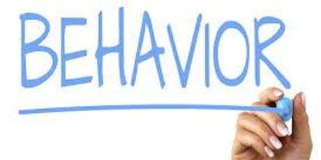 Behavior Strategies for Parents tickets