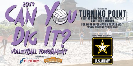 """Can You Dig It"" Volleyball Tournament Benefitting Turning Point tickets"