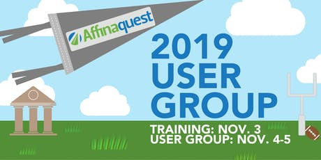 Affinaquest 2019 User Group tickets