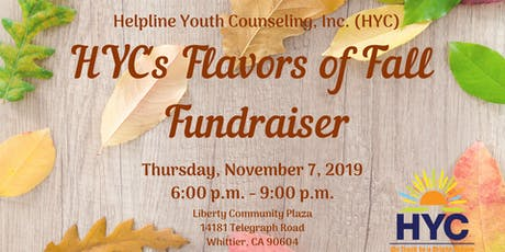 HYC's Flavors of Fall Fundraiser tickets