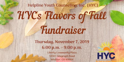 HYC's Flavors of Fall Fundraiser