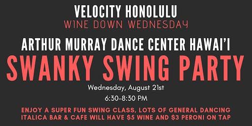 Swanky Swing @ Velocity
