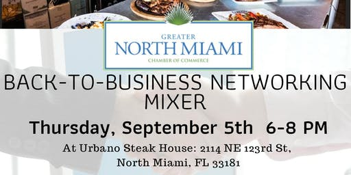 BACK-TO-BUSINESS NETWORKING MIXER