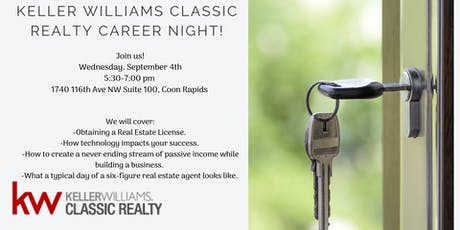 Keller Williams Classic Realty Career Night! tickets