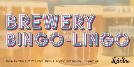 Brewery Bingo-Lingo tickets