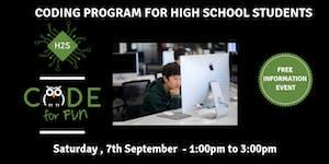 Hack High School Coding Program - Free December...