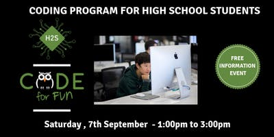 Hack High School Coding Program - Free November Information Event