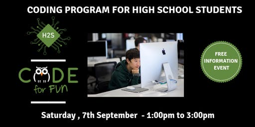 Hack High School Coding Program - Free December Information Event