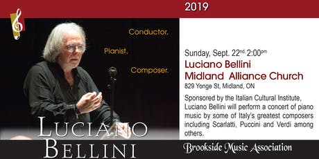 Luciano Bellini - Conductor, Pianist, Composer tickets