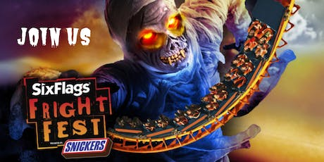Six Flags Fiesta Texas & SAATC Fright Fest Preview Party tickets