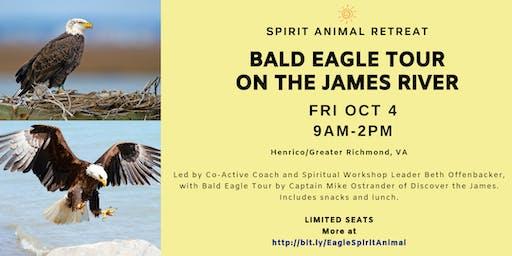 Spirit Animal Retreat: Bald Eagle Tour on the James River