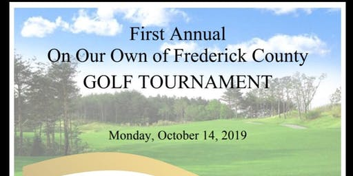 On Our Own of Frederick County 1st Annual Golf Tournament