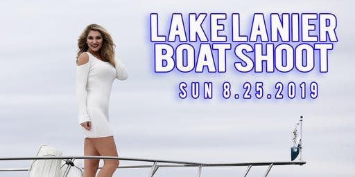 Boat Shoot @Lake Lanier