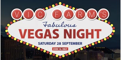 Vic Farm's Vegas Night in aid of Great Ormond Street Hospital