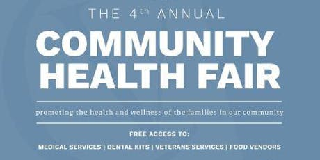 4th Annual CVMG Health Fair tickets