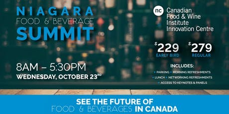 Niagara Food & Beverage Summit tickets