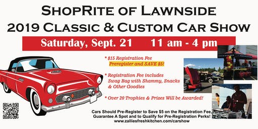 ShopRite of Lawnside 5th Annual Classic & Custom Car Show