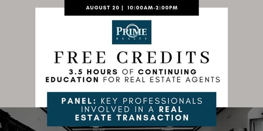 Key Professionals Involved  in a Real Estate Transaction (PANEL)
