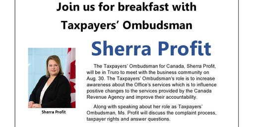 Breakfast with Taxpayers' Ombudsman
