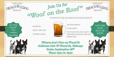 WOOF on the ROOF tickets