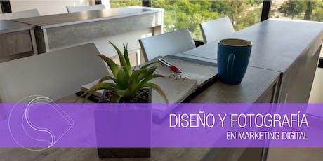 Workshop Diseño y Fotografía en Marketing Digital - Santa Fe entradas
