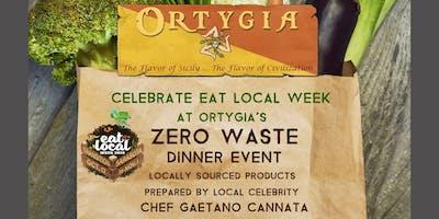 Ortygia Restaurant's ZERO WASTE Dinner