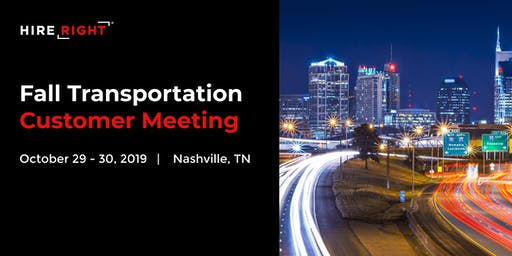 Transportation Customer Meeting