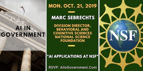 AI in Government - Dr. Marc Sebrechts, NSF tickets
