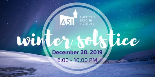 Winter Solstice  at ASI - Sold Out!