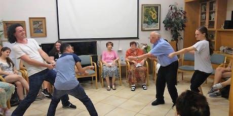Theater activity with elderly - סדנת תיאטרון עם קשישים tickets