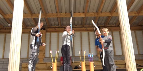 Juniors (and Parents) Roll-up Archery Sessions Autumn Term 1 2019 tickets