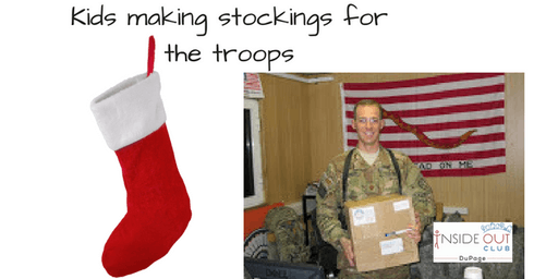 Stockings for the Troops