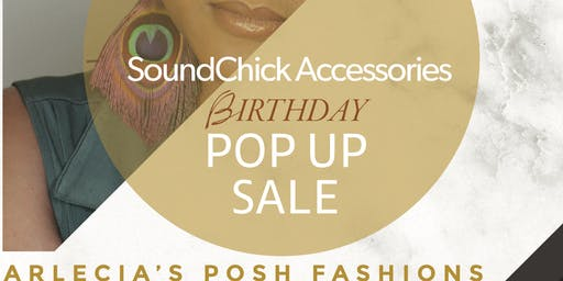 SoundChick Accessories Fall Birthday Pop Up Sale!