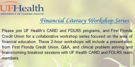 Financial Literacy Workshop Series