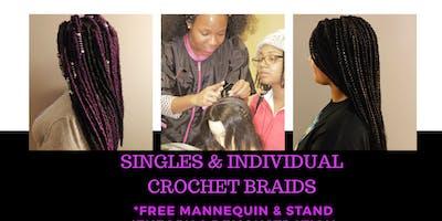 Singles & Individual Crochet Braids