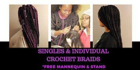 Singles & Individual Crochet Braids tickets