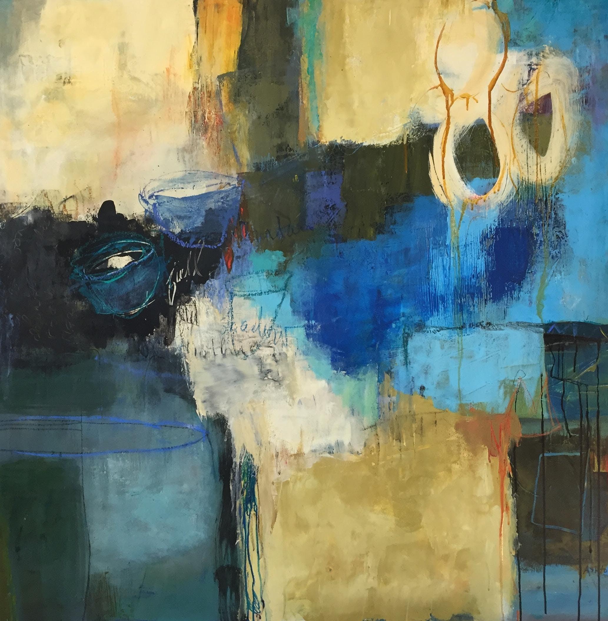 FRI - Advanced Abstract Acrylics with instructor Kate Ashton
