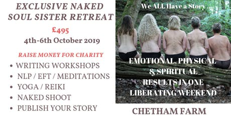 Exclusive Naked Soul Sister Retreat tickets