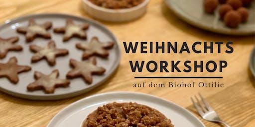 Weihnachtsworkshop Patisserie |bio, glutenfrei, zuckerfrei, vegan