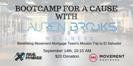 Bootcamp for a Cause with Lauren Brooks tickets