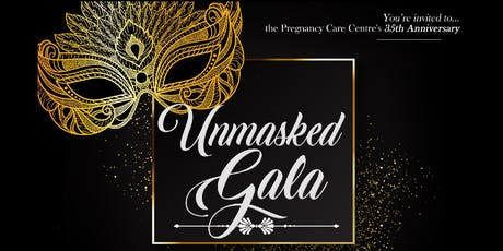 "PCC's 35th Anniversary Gala ""UNMASKED"" tickets"