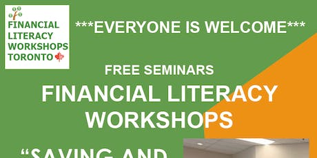 FINANCIAL WORKSHOPS - FREE - LIMITED SEATS - tickets