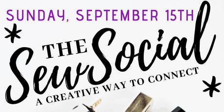 The Sew Social: Design and Sew Your Own Cosmetics Bag tickets
