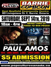 Barrie ComiCon September 14 2019 ~ Comic Con ~ tickets