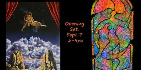 Zara Kand & Valerie Davis Art Reception tickets