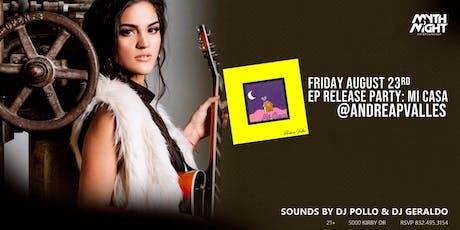 Andrea Valles, EP Release Party: Mi Casa by Mythnight boletos