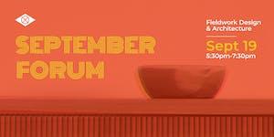 IIDA Oregon Chapter - 2019 September Forum_Tickets